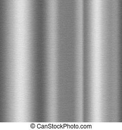 shiny brushed aluminum texture background