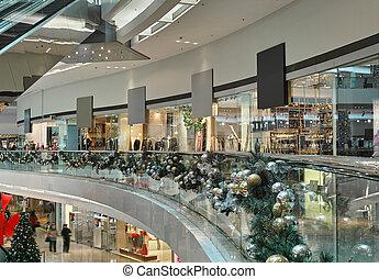 shopping mall interior
