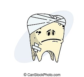 Sick tooth