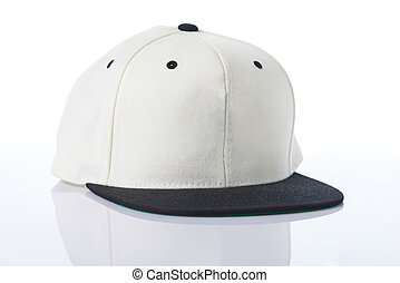 Side view of baseball cap