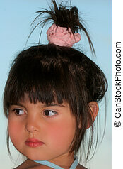 Sideways Glance of a Child