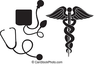 silhouette medical sign