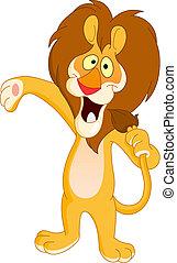 Singing lion