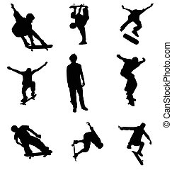 skater silhouettes collection