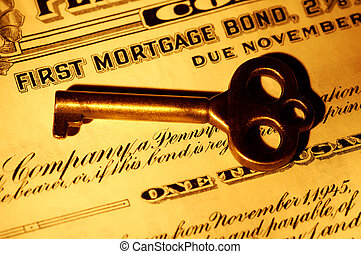 Skeleton key and a Mortgage Bond Certificate