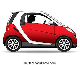 a small, economical, environmentally safe car
