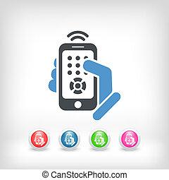 Smartphone remote control