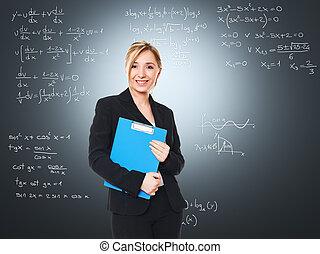 smiling woman teacher