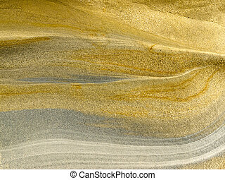 Smooth surface of layered sandstone sediment rock background texture pattern