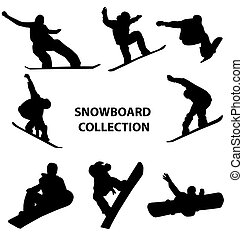snowboard silhouettes collection