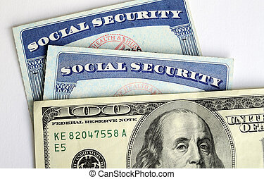 Social Security and retirement income concept of financial planning