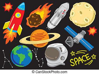 space cartoon