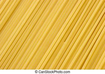 Close up from spaghetti. Shot in Studio