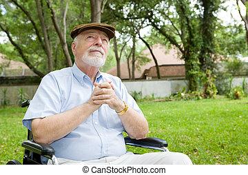 Spiritual Senior Man