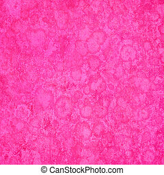 Spongy Pink Grunge Textured Background
