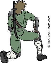Stand up ninja