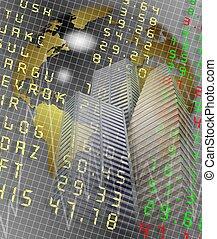stock exchange city