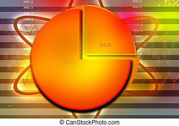 Stock Market Exchange concept