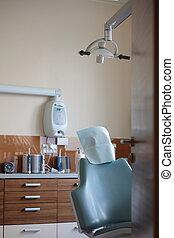 stomatologist medical room.