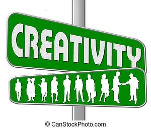 street sign creativity