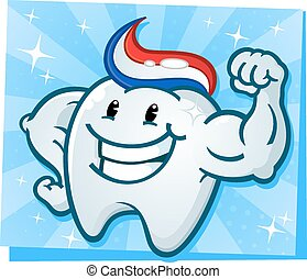 Strong Tooth Flexing Muscles