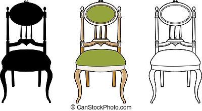Style medallion chair