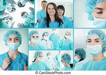Successful medical team