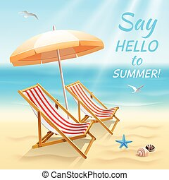 Summer holidays background wallpaper