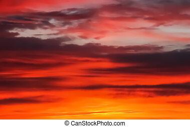 Sunrise, sunset sky background