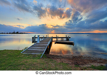 Sunset at Belmont, Lake Macuarie