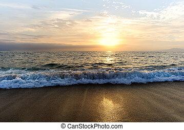 Sunset Ocean