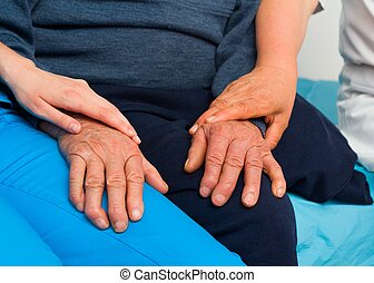 Supporting The Elderly With Parkinson's Disease