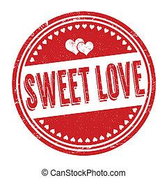 Sweet love stamp