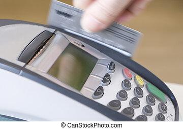 Swiping Credit Card