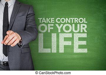 Take control of your life on blackboard