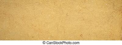 tan toned heavyweight vintage handmade paper