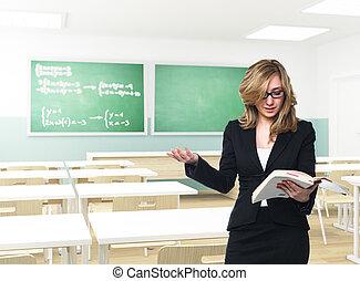 teacher in action