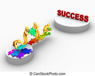 Team Work For Success