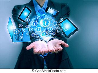 Technology concept