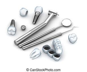 Teeth, implants, and dental