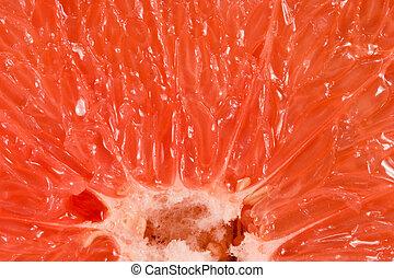 Texture of grapefruit