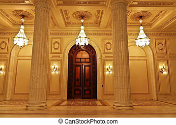 The Parliament - Interior