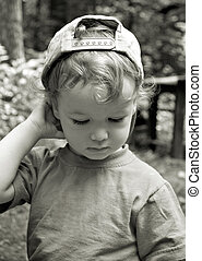 The thoughtful kid