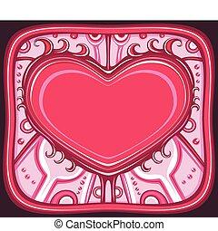 The Valentine's day frame