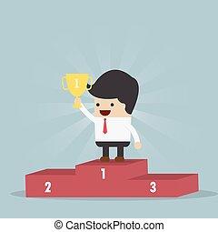The Winner Businessman
