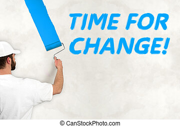 time for change concept