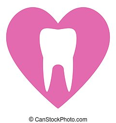 Tooth care icon