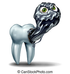 Tooth Cavity Monster