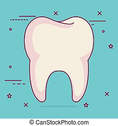 tooth dental care icon
