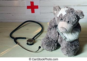 toy teddy doctor